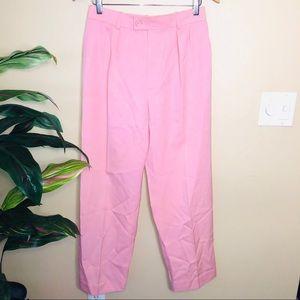 Yves Saint Laurent Pink Vintage High Waist Pants